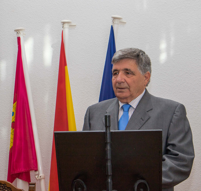 Eugenio Esteban de la Morena, Alcalde de Tamajón